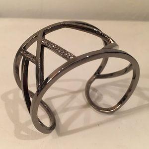 Gorgeous Gunmetal Gray Bracelet